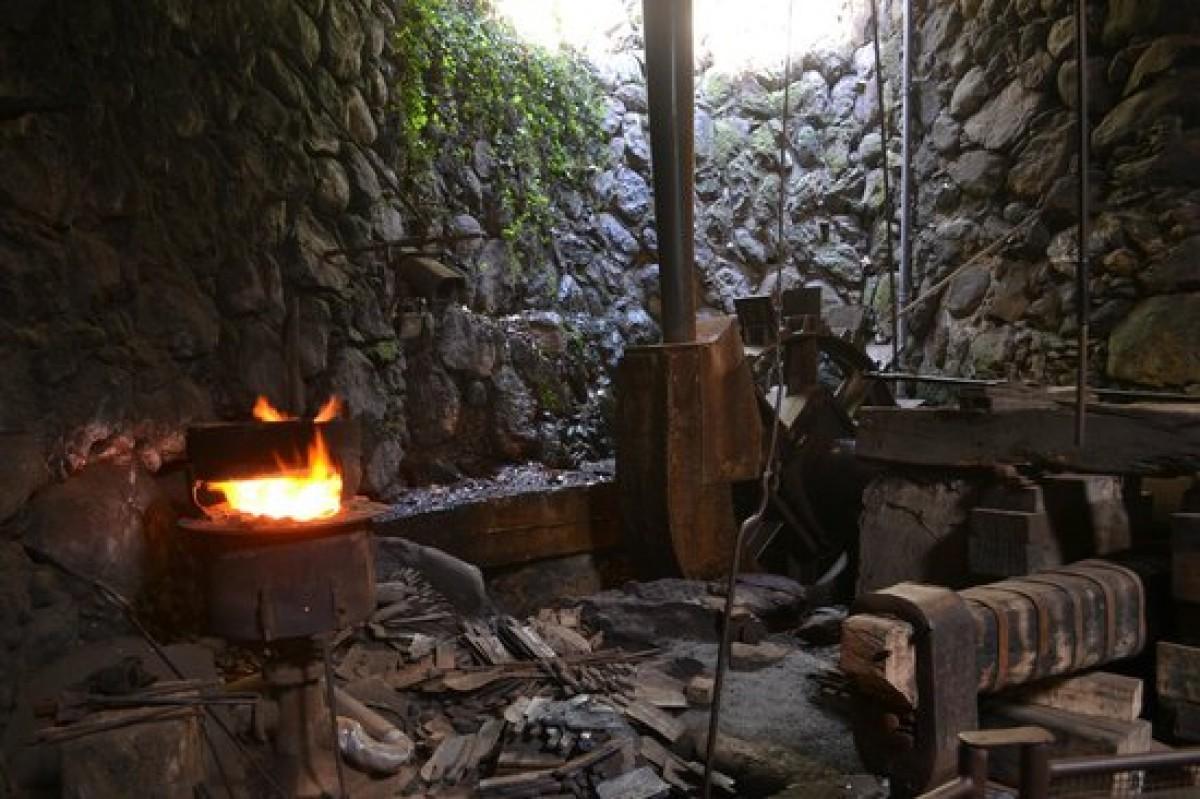 Les Forges de Pyrène, l'eau et le feu