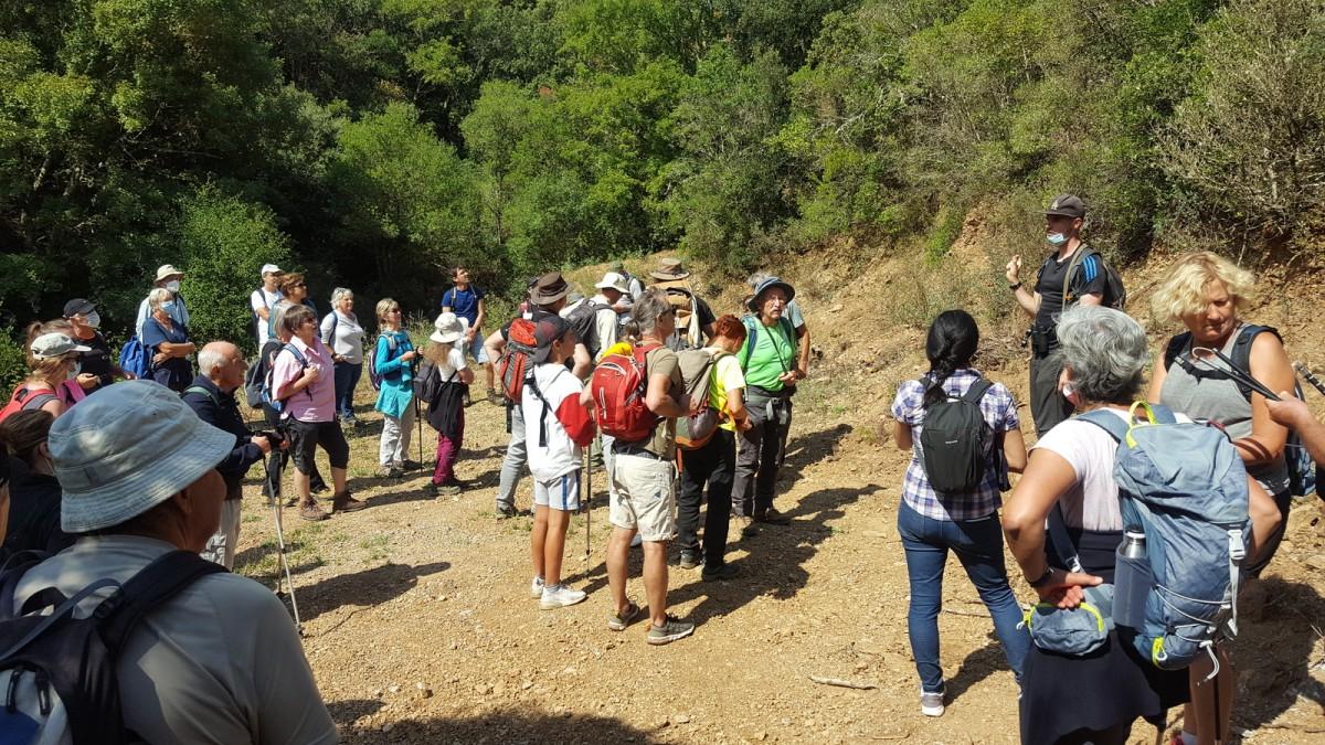 Balade patrimoniale sites  miniers Roc das Quis - Montredon