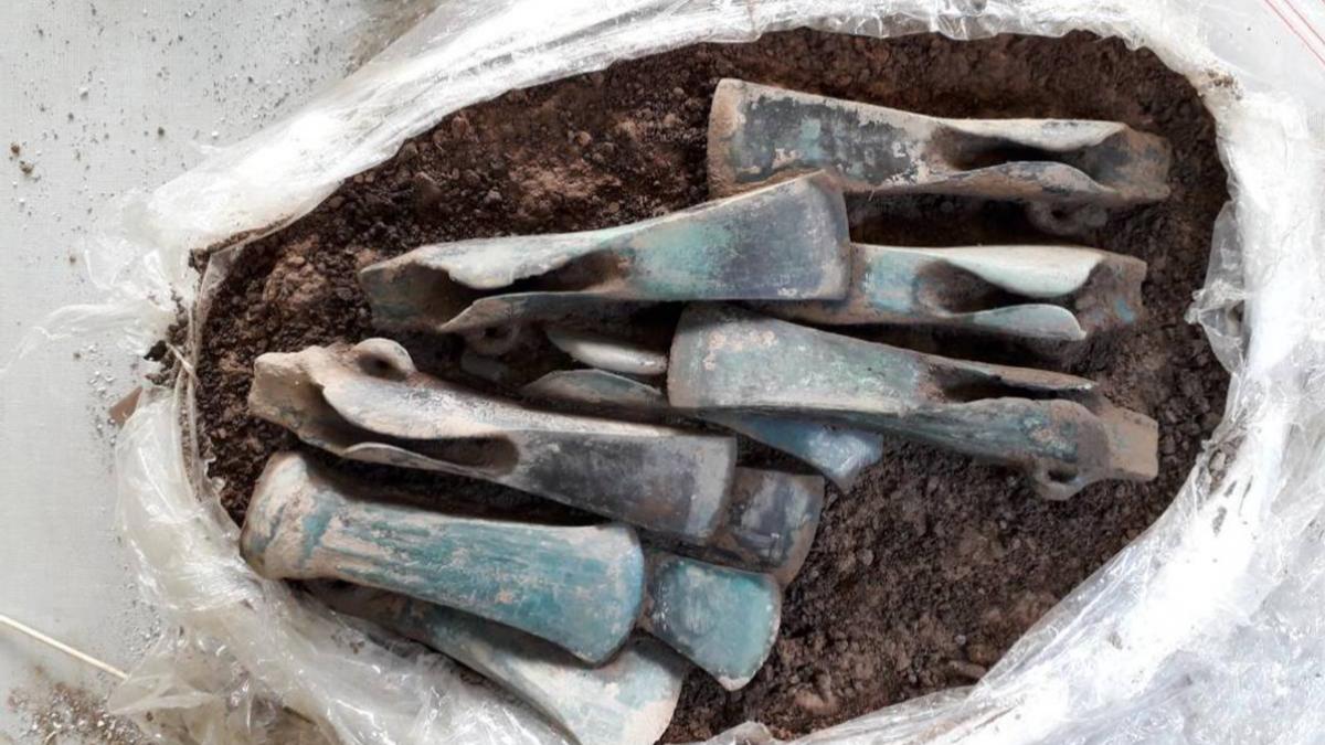 Age du bronze, Importante dcouverte  Ganat dans l\\\'Allier