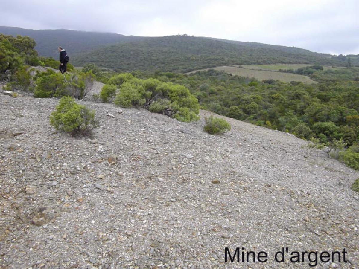 Cascastel Mine d'Argent
