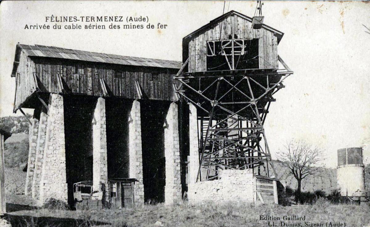 Mines des Corbières, Terminal Félines